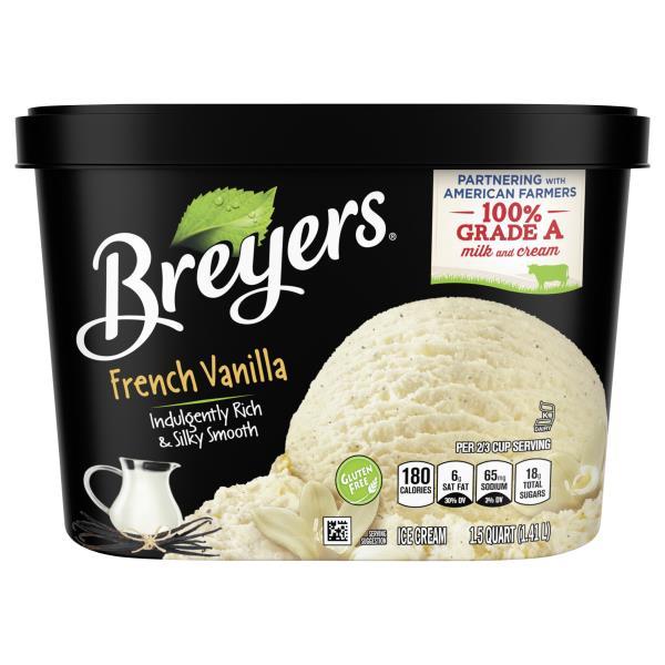 Breyers Ice Cream, French Vanilla