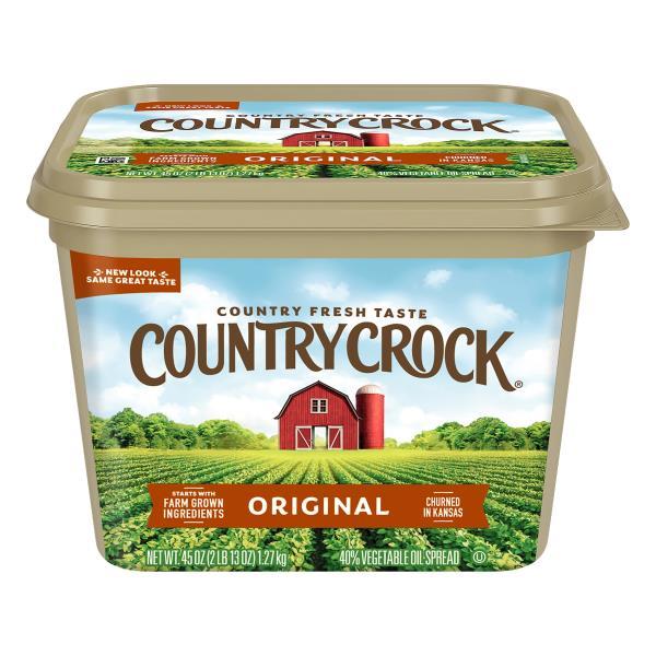 Country Crock Shedd's Spread Vegetable Oil Spread, 40%, Original