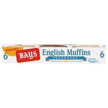Bays English Muffins, Sourdough