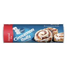 Pillsbury Cinnamon Rolls, with Icing