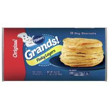 Pillsbury Grands! Biscuits, Big, Flaky Layers, Original