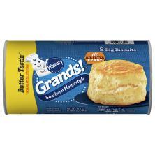 Pillsbury Grands! Biscuits, Big, Homestyle, Butter Tastin'