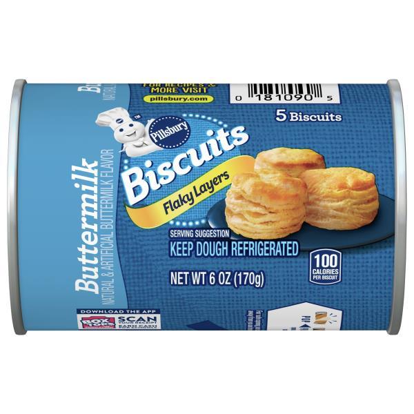 Pillsbury Grands! Jr Biscuits, Flaky, Buttermilk