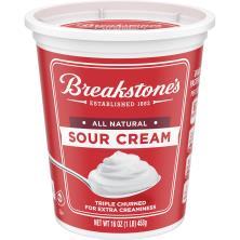 Breakstones Sour Cream, All Natural