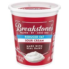 Breakstones Sour Cream, Reduced Fat