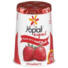 Yoplait Original Yogurt, Low Fat, Strawberry