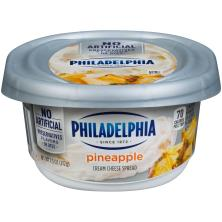 Philadelphia Cream Cheese Spread, Pineapple