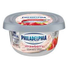 Philadelphia Cream Cheese Spread, Strawberry