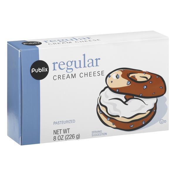 Publix Cream Cheese, Regular