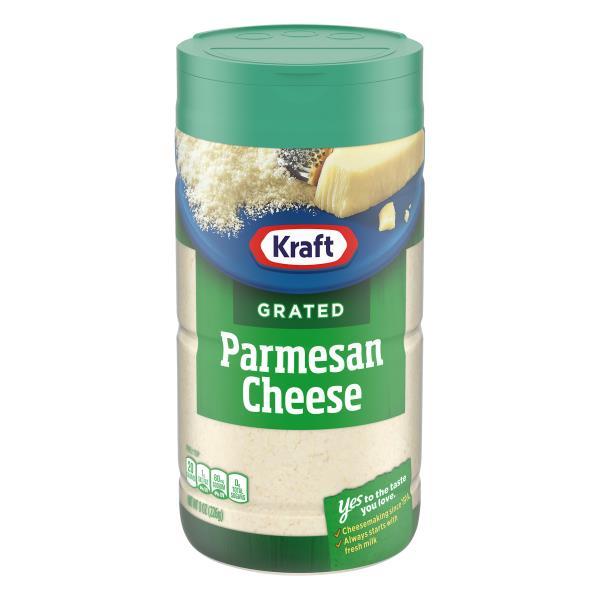 Kraft Cheese, Grated, 100% Parmesan