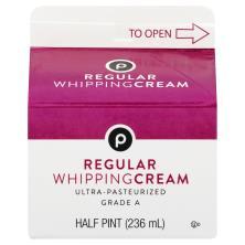 Publix Whipping Cream, Regular