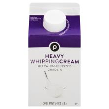 Publix Whipping Cream, Heavy