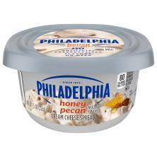 Philadelphia Cream Cheese Spread, Honey Pecan Flavored