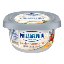 Philadelphia Cream Cheese Spread, Garden Vegetable
