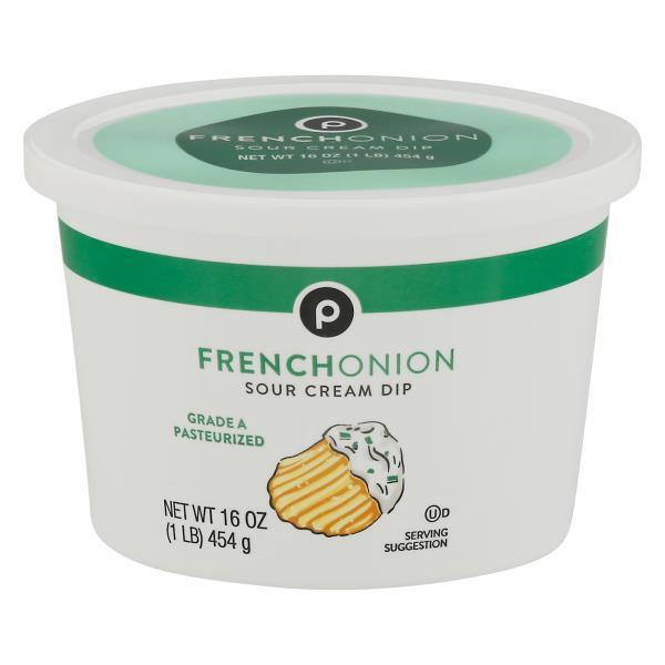 Publix Sour Cream Dip, French Onion