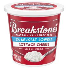 Breakstones Cottage Cheese, Small Curd, 2% Milkfat, Lowfat