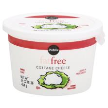 Publix Cottage Cheese, Small Curd, Fat Free
