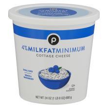 Publix Cottage Cheese, Small Curd, 4% Milkfat Minimum