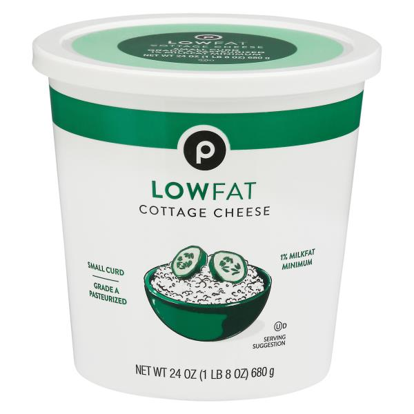 publix cottage cheese small curd 1 milkfat minimum low fat rh publix com fat free cottage cheese saturated fat in cottage cheese