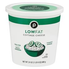 Publix Cottage Cheese, Small Curd, 1% Milkfat Minimum, Low Fat