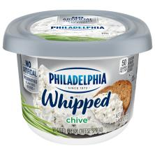 Philadelphia Cream Cheese Spread, Whipped, Chive