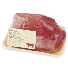 GreenWise Angus Eye Round Roast, USDA Choice Beef Raised Without Antibiotics