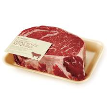 GreenWise Angus Ribeye Steak, Boneless, USDA Choice Beef Raised Without Antibiotics