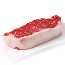 GreenWise Angus New York Strip Steak Bnl, USDA Choice Beef Raised Without Antibiotics