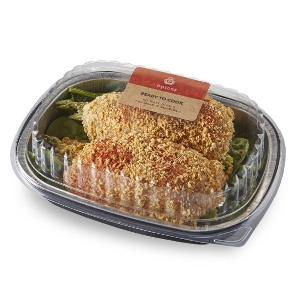Aprons Stuffed Chicken Breast Fillet, with Asparagus and Cheese