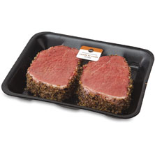 Publix Montreal-Seasoned, Eye Round Steaks