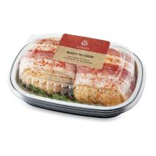 Aprons Stuffed Chicken Breast Fillets, Cordon Bleu with Bacon Prepared Fresh Instore