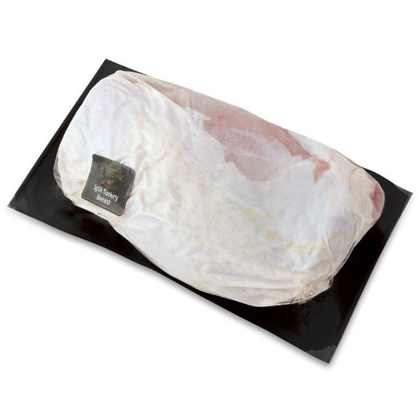 Plainville Split Turkey Breast, Raised Without Antibiotics