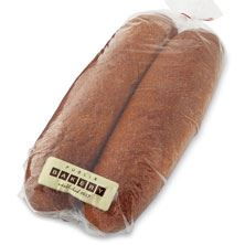 100% Whole Wheat Sub Rolls 2ct
