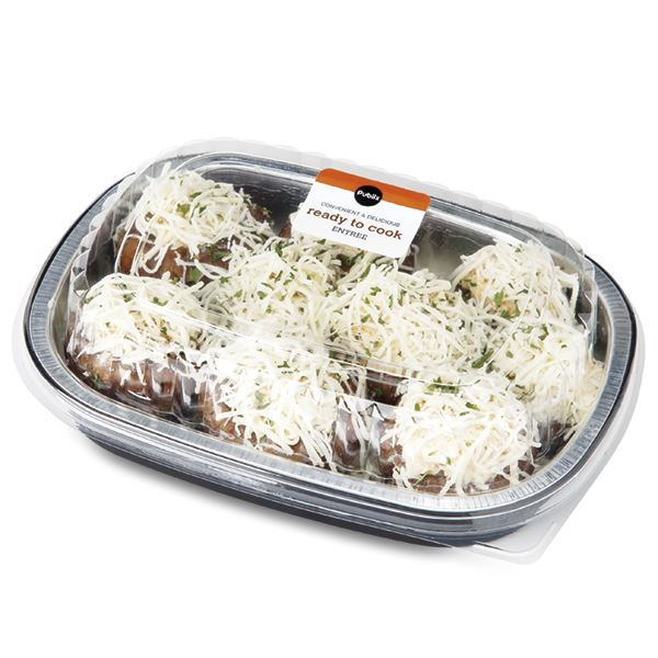 Crabmeat Stuffed Baby Portabellos, Prepared in Store, Ready to Cook