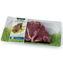 Thomas Farms Lamb Loin Chops Raised Without, Antibiotics, Product of Australia