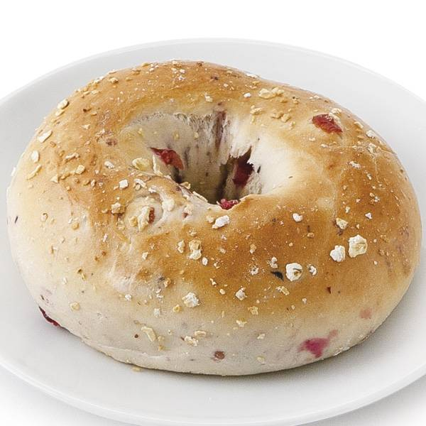 Mixed Berry & Oat Bagel