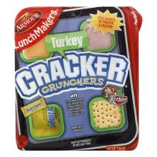 LunchMakers Cracker Crunchers, Turkey, with Butterfinger Bar