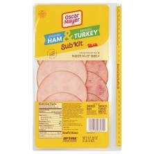 Oscar Mayer Sub Kit, Smoked Ham & Smoked Turkey