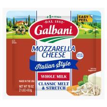 Galbani Cheese, Mozzarella, Whole Milk