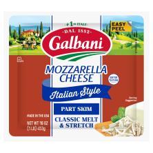 Galbani Cheese, Mozzarella, Part Skim
