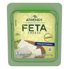 Athenos Cheese Chunk, Feta, Traditional