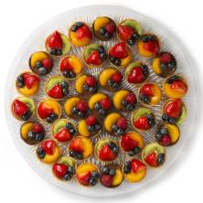 Fresh Fruit Tart Platter Large 37 Count