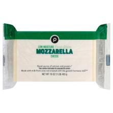 Publix Mozzarella, Chunk Cheese