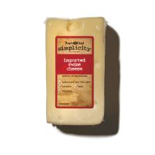 Boar's Head Simplicity All Natural Imported Swiss Cheese
