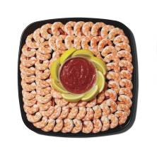 GreenWise Captain's Choice Shrimp Platter, Medium, 56 Oz, Ready to Eat