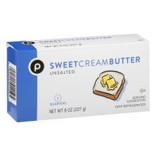 Publix Butter, Sweet Cream, Unsalted