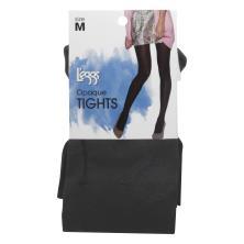 Leggs Tights, Opaque, Size M, Black