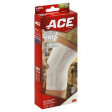 ACE Knee Brace, Knitted, with Side Stabilizers, Large