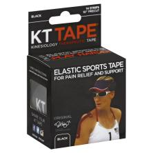 KT Tape Kinesiology Therapeutic Tape, Black
