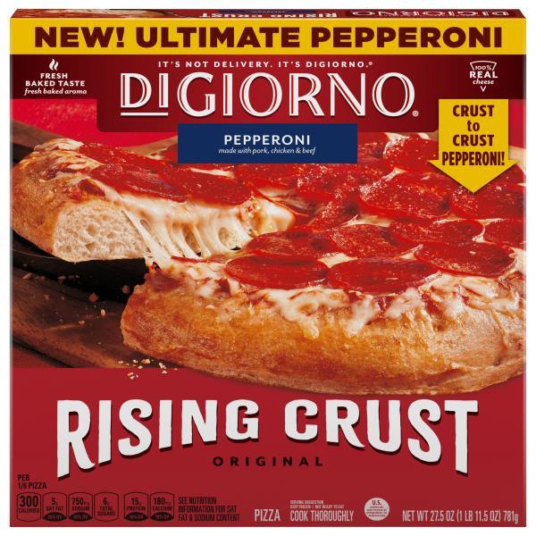 DiGiorno Pizza, Original Rising Crust, Pepperoni